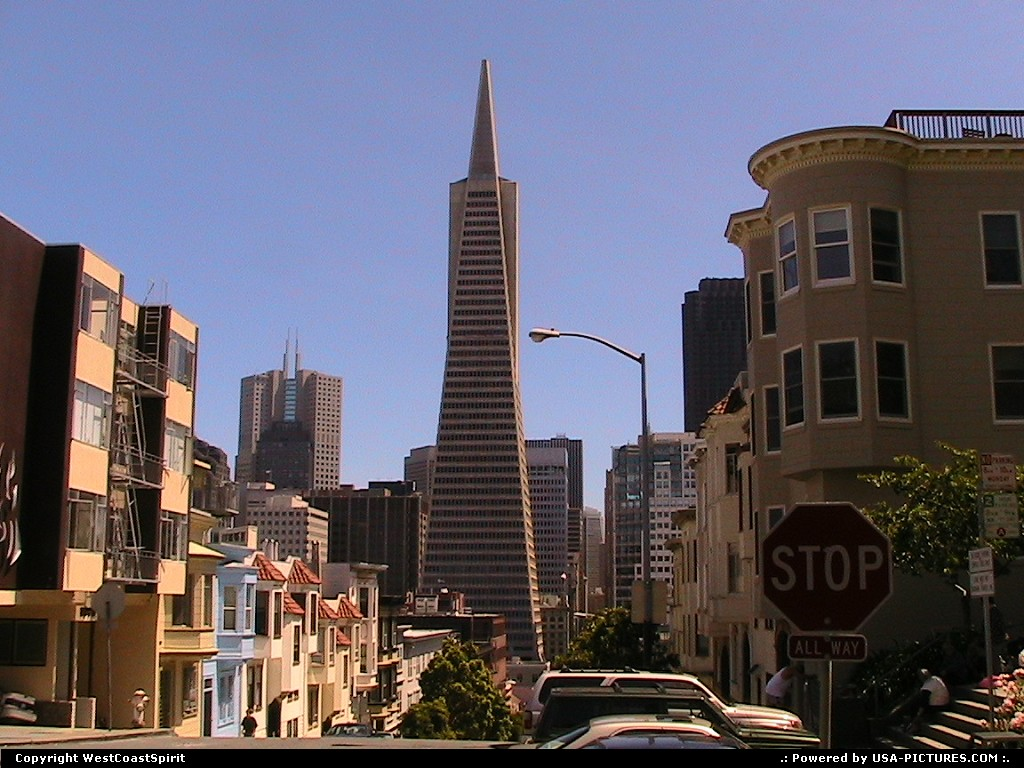 Picture by WestCoastSpirit: San Francisco California   tower, building, skyscrapper