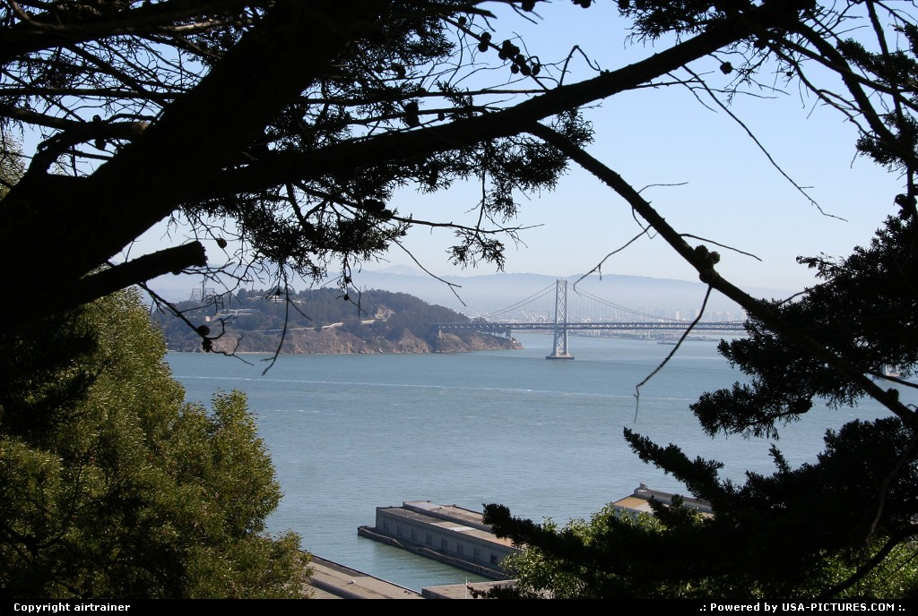 Picture by airtrainer:San FranciscoCaliforniabay bridge