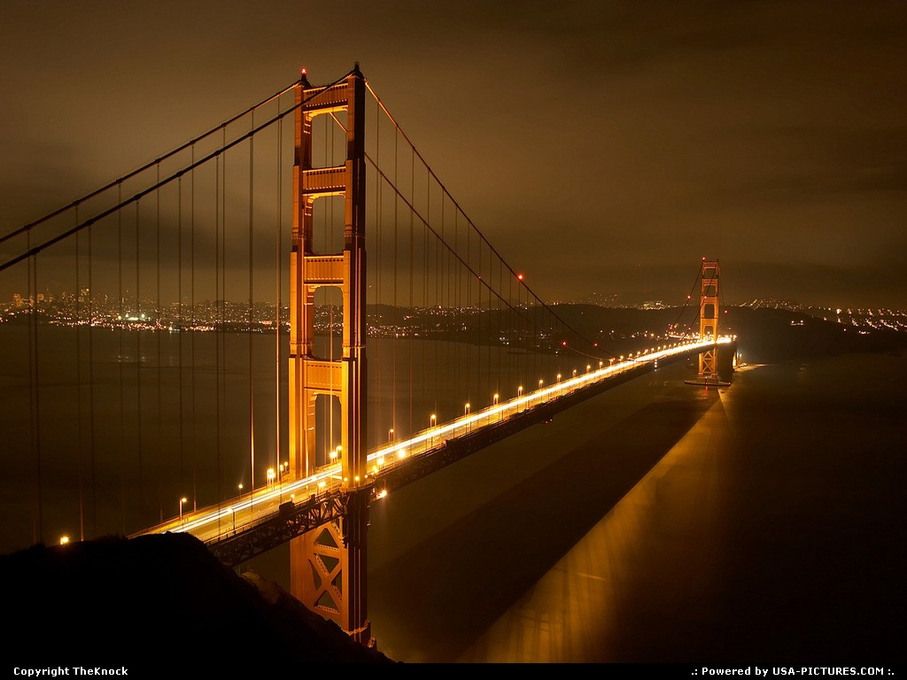Picture by TheKnock: San Francisco California   Golden Gate