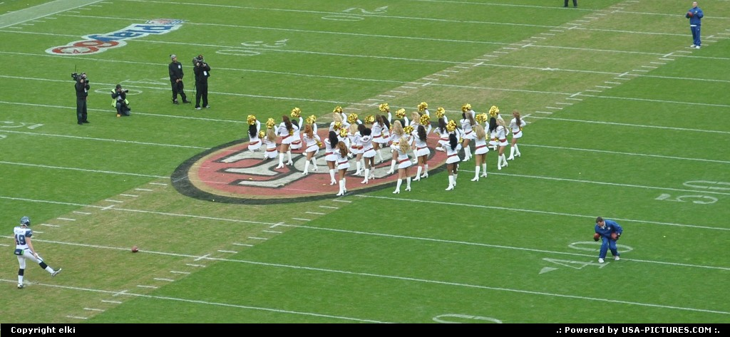 Picture by elki:San FranciscoCaliforniacheerleaders, 49ers, san francisco