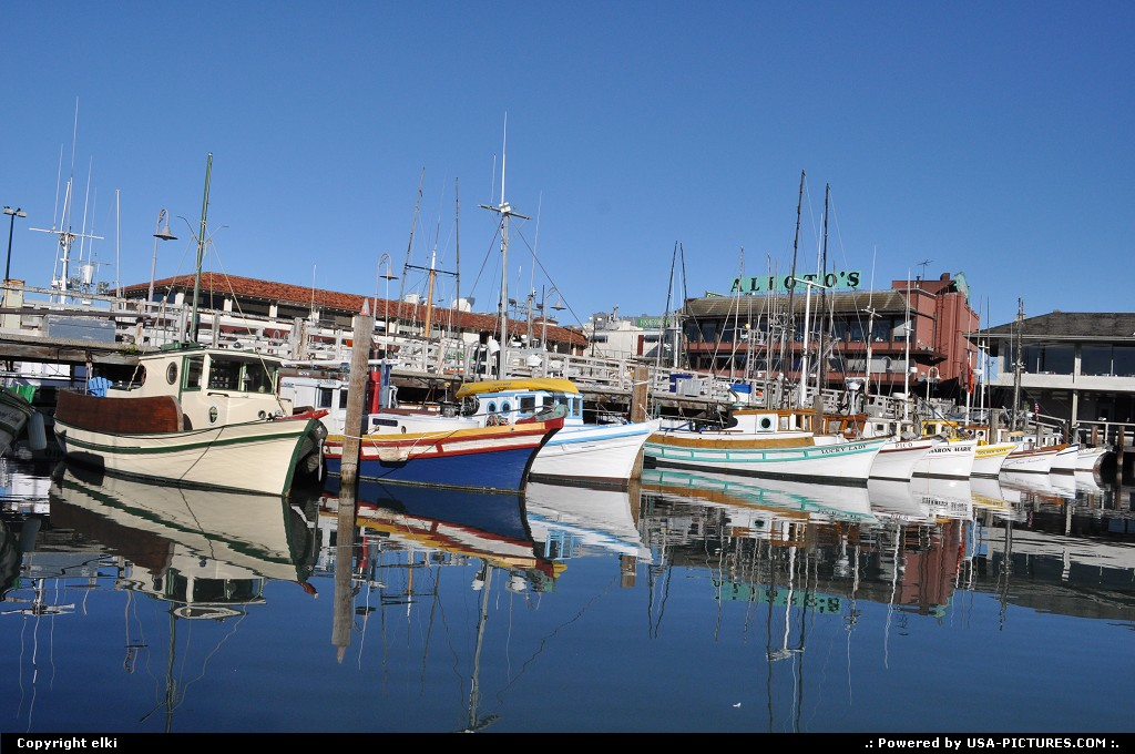 Picture by elki: San Francisco California   fishermanwharf