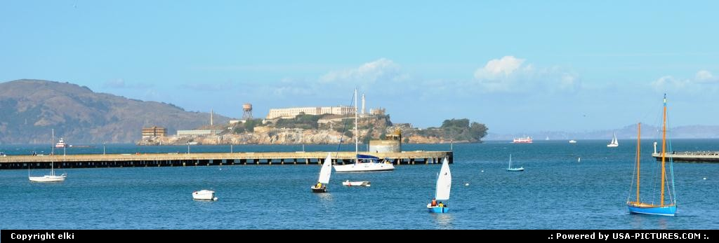 Picture by elki: San Francisco California   alcatraz San Francisco California