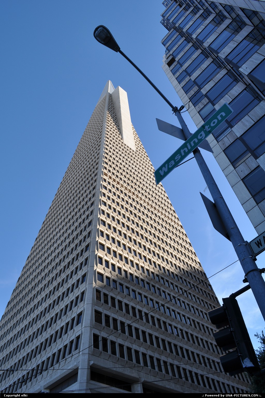 Picture by elki: San Francisco California   san francisco, transamerica tower pyramid