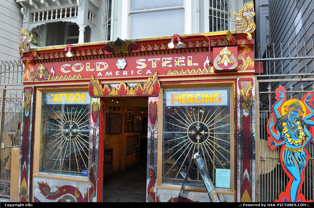 Picture by elki: San Francisco California   Haight-Ashbury san francisco