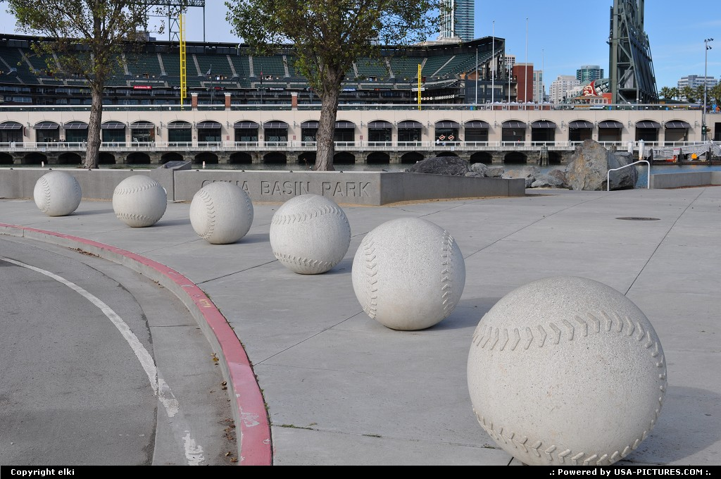 Picture by elki:San FranciscoCaliforniaat&t park, giants, san francisco