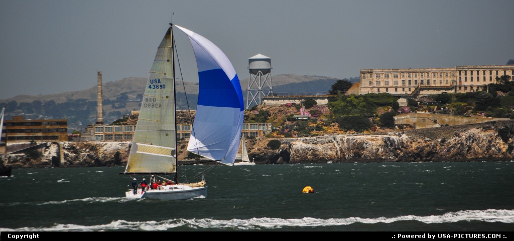 Picture by WestCoastSpirit: San Francisco California   sailing, boat, america cup, team usa