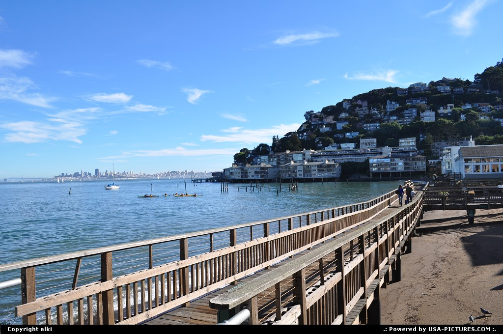 Picture by elki: Sausalito California   sausalito