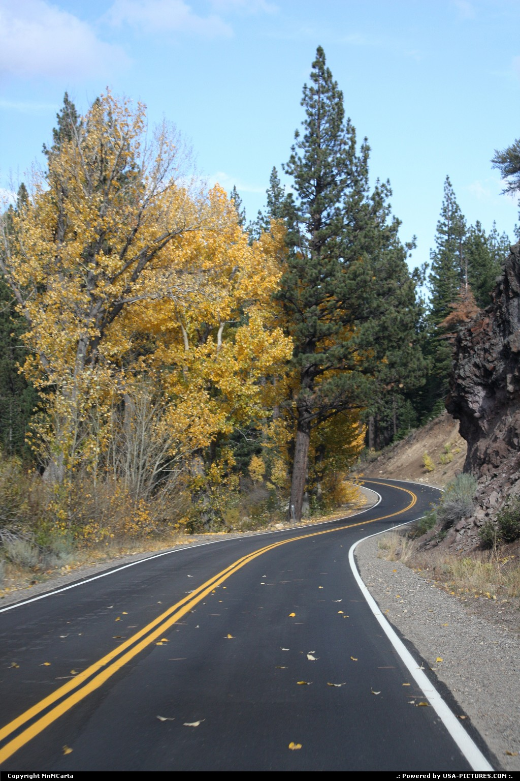 Picture by MnMCarta:Tahoe CityCalifornialake tahoe,drive,honeymoon,nature,fall,autumn,color