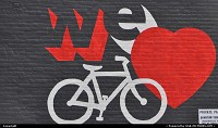 , Denver, CO, We sure do! Nice mural in Denver, by the way. Good to see cycling is making its way in the US society.