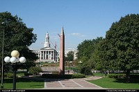 Colorado, Denver Mall, the City Hall on the background. Taken for the Colorado State Capitol.