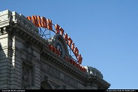 Colorado, Union Station, in Low Dowtown, nicknamed LoDo in Denver, the Mile High City. This train station offers plenty of opportunities to travel by train, countrywide.