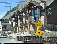 Durango ski resort. Visited during late spring. However seems to be cool to ski around here