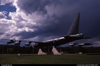 Impressive to meet this B-52 at the gate of Colorado Springs Air Force Academy !