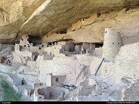 Mesa Verde, , CO, Cliff Palace sure is impressive! The dwelling hosts at least 150 rooms, including pithouse, kivas and more. Really nice to visit, a must I would say