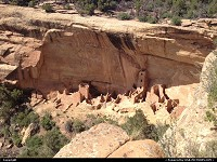 Mesa Verde, , CO, The square tower dwelling. You can't visit this one, at least it was impossible when we went there. Quite impressive from above, though.