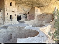 Photo by WestCoastSpirit |  Mesa Verde kiva, pithouse, ladder, tunnel