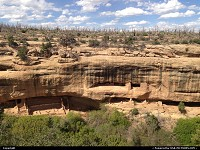 Photo by WestCoastSpirit |  Mesa Verde hike, trail, mesa, dwellings