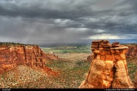 Colorado, Colorado National Monument, near Grand Junction.