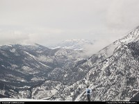 Colorado, Snow moving into the high country over Frisco.