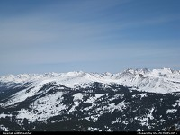 Copper Mountain looking east over the Rocky Mountains