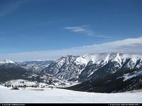 Copper Mountain Ski Area looking south.