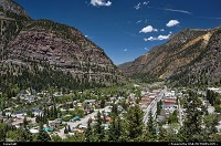 , Ouray, CO, Arriving Silverton, on our way to Grand Junction, driving from one pass to the other on the great state of Colorado.