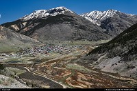 , Silverton, CO, Arriving Silverton, on our way to Grand Junction, driving from one pass to the other on the great state of Colorado.