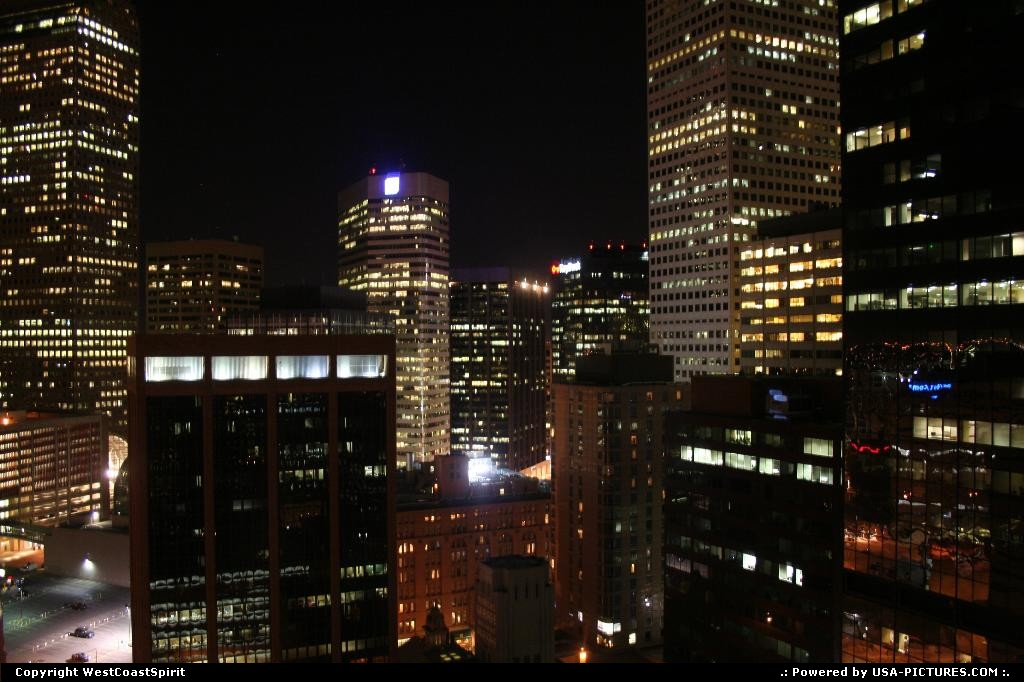 Picture by WestCoastSpirit: Denver Colorado   skyline, building, sky scrapper