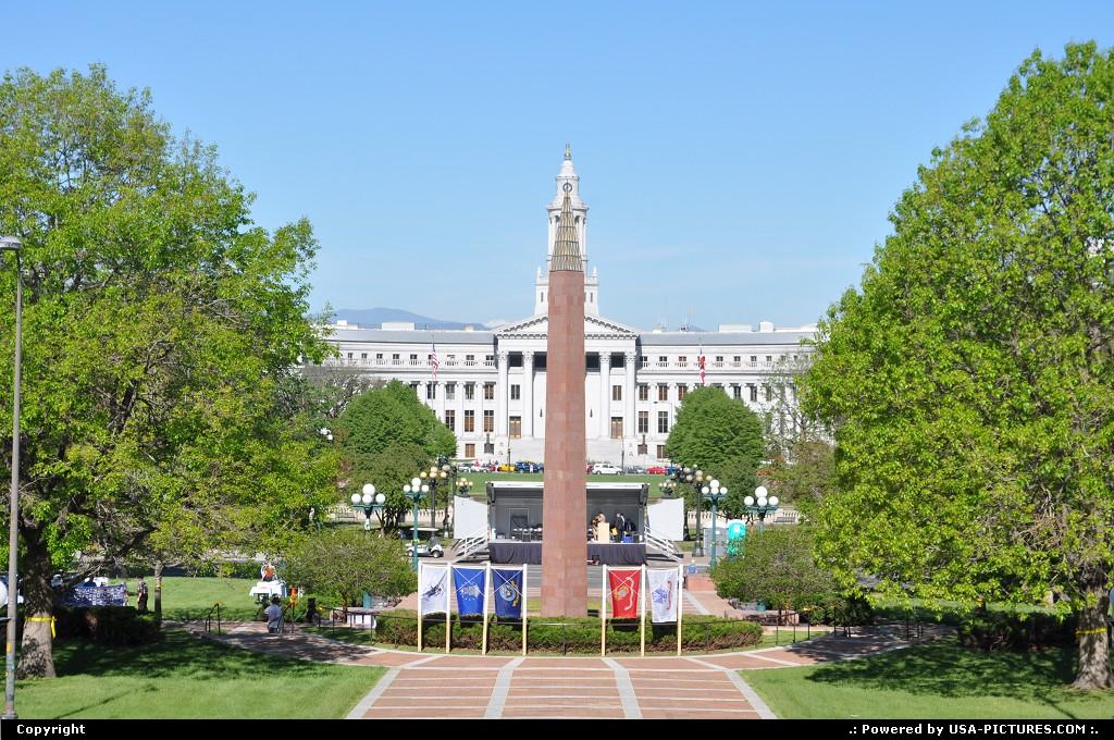 Picture by elki:DenverColoradodenver, colorado, obelisk