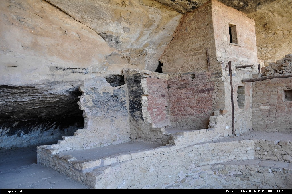 Picture by elki:  Colorado Mesa Verde Balcony House balcony house @ mesa verde national park