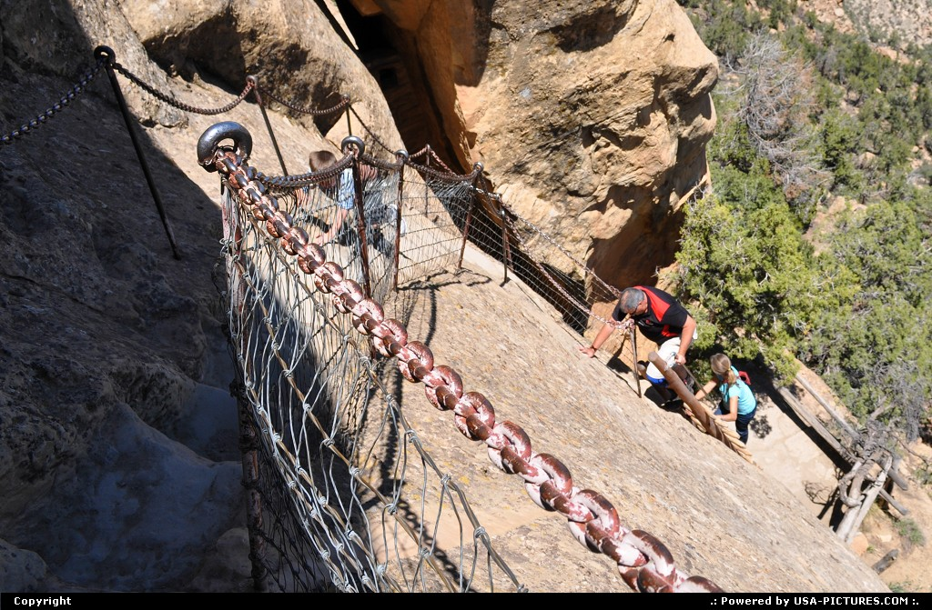 Picture by USA Picture Visitor:ColoradoMesa VerdeBalcony Housemesa verde national park balcony house