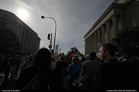 Photo by jessie824 | Washington  crowds, rally, DC, restore sanity, morning light, downtown
