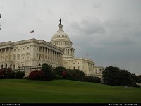 Washington : Cloudy days at the US Capital