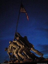 Photo by USA Picture Visitor | Washington  Iwo Jima, war, honor