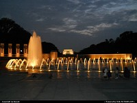 Photo by mrsbeenk | Washington  Memorial, Sunset, Fountain