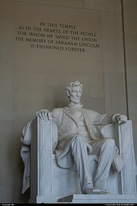 Photo by elki | Washington  Lincoln memorial