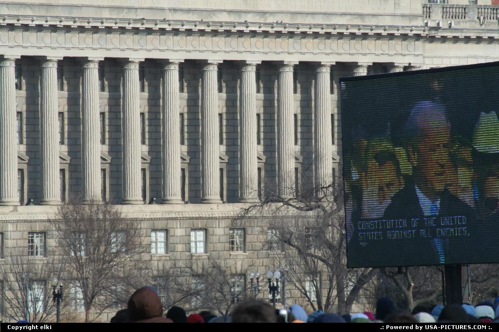 Picture by elki:WashingtonDct-columbiaBarack Obama Inauguration day 01 20 2009