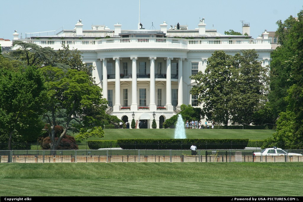 Picture by elki: Washington Dct-columbia   White house