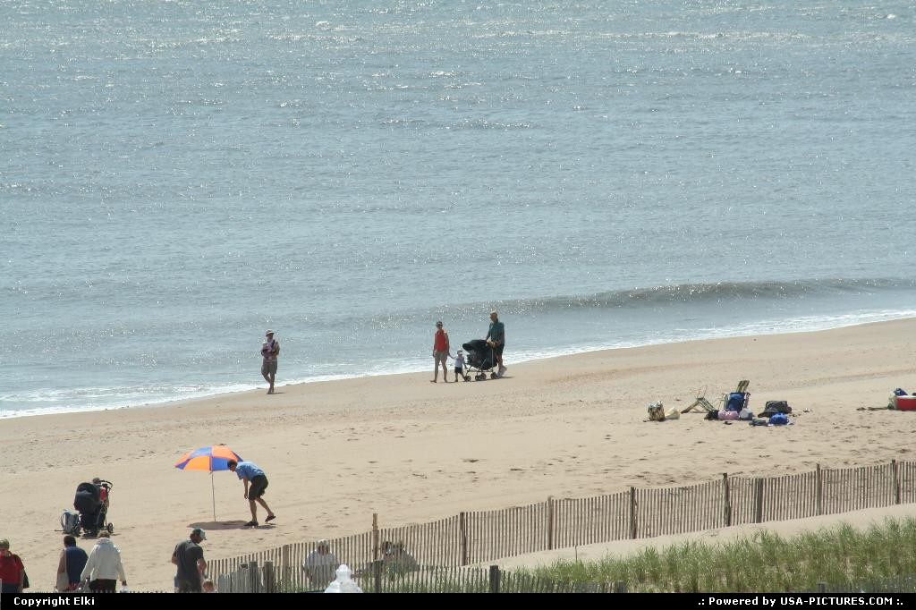 Picture by elki: Rehoboth Beach Delaware   beach, sand, family