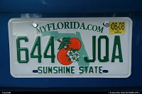 Photo by elki |   florida identification plate