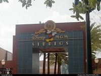 Entrée des Studios Disney MGM