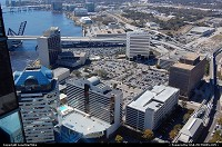 Photo by LoneStarMike | Jacksonville  aerial, skyline, waterfront,