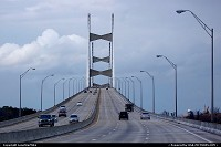 Jacksonville : Dames Point Bridge in Jacksonville, FL