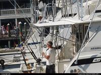 Bateaux de pêche à la marina