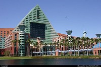 The Swan and Dolphin resort by Epcot, Disney, enjoying a well deserved break after the Techmentor event in Orlando