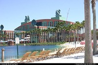 Lake Buena Vista : The Swan and Dolphin resort in Disney. There is also a fantastic pool behind