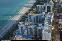 Yet another luxury resort in Miami Beach. Nice rooftop pool you may say. That's right, but the one between the towers (not visible here) is pretty impressive, too.