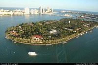 Miami : Star Island (reclaimed from the bay) is obviously home of several big and famous houses.