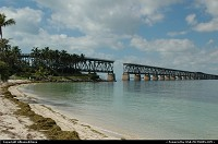 Florida, Remains of the Overseas Railroad, Florida Keys. For webgallery: www.caribbean-editions.nl
