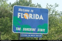 Not in a city : Leaving Alabama and crossing Florida State Line.
